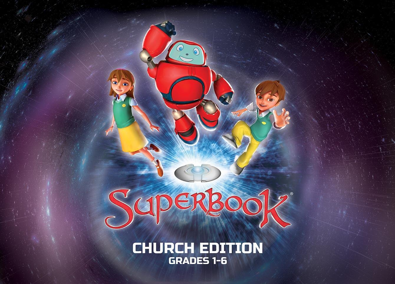 Superbook®: Church Edition – 20′ x 10′ Booth Back