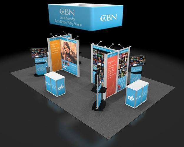 CBN 2016 NRB Tradeshow Display